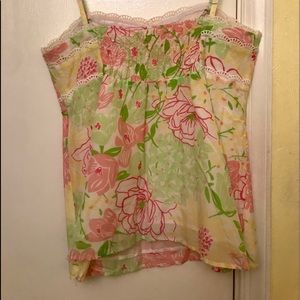 Lilly Pulitzer Vintage Scalloped Tank Top